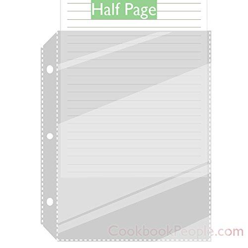 half page recipe binder - 3