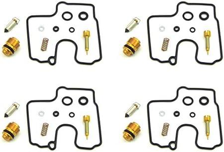 4x Carburetor Carb Repair Kits Kawasaki Ninja ZX600 ZX6R ZZR600 K/&L 18-5586V