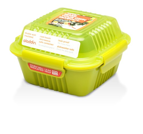 Aladdin Insulated To-Go Food Container 12oz, Lettuce