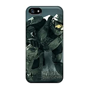 ZJSkDjU-4822 Tpu Phone Case With Fashionable Look For Iphone 5/5s - Halo