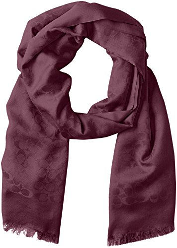 Coach Signature Stole Ladies Sherry Scarf 77672 by Coach