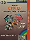 Microsoft Office introductory concepts and techniques: Course one : Word 6, Excel 5, Access 2, PowerPoint 4 (Shelly Cashman series)