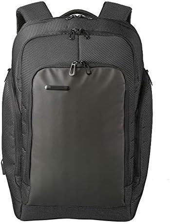 Prime Weekender Travel Backpack with USB Charging Port, Black, Size Large