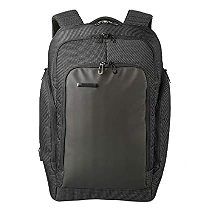 Prime Weekender Travel Backpack with USB Charging Port (Black) TSA Compliant, Anti-