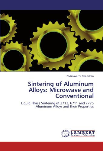 Sintering of Aluminum Alloys: Microwave and Conventional: Liquid Phase Sintering of 2712, 6711 and 7775 Aluminum Alloys and their Properties