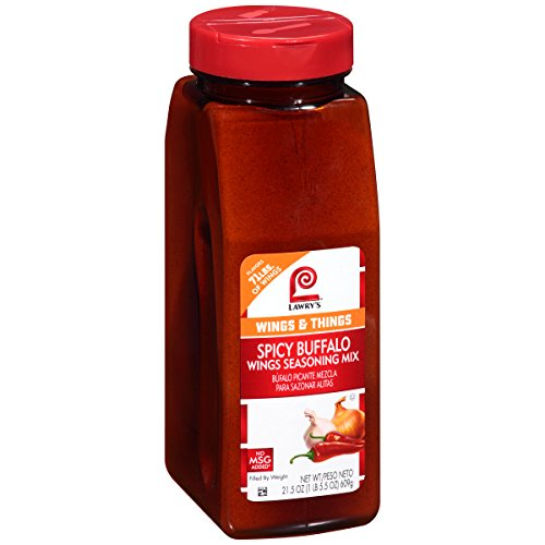 Lawry's Spicy Buffalo Wings Seasoning Mix, 21.5 Ounce ()