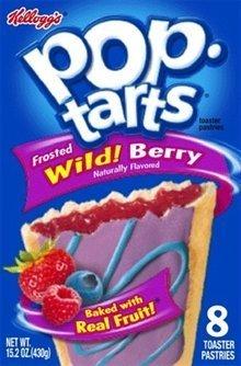 Kellogg Pop Tart Wild Berry 6 cartons