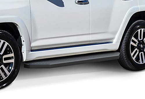 - APS iBoard Black Running Boards Style Custom Fit 2010-2019 Toyota 4Runner Limited Sport Utility 4-Door & 2010-2013 SR5 (Excl.14-19 SR5 & 10-16 Trail Edition) (Nerf Bars | Side Steps) 6
