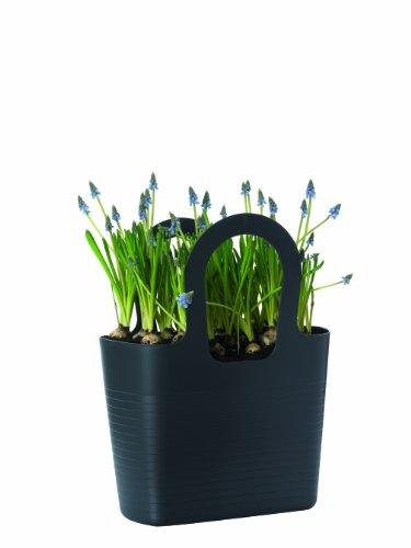 Elho Ogni & Everyday Lizzy Little gardener borsa a forma di colore grigio antracite