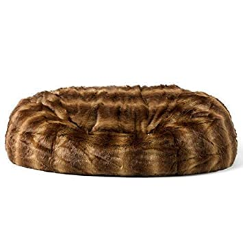 f0ec057b379 icon Cloud Bean Bag - 160cm x 140cm, Luxury Giant Soft Faux Fur Two-Seater  Love Seat Sofa (Brown Bear)  Amazon.co.uk  Kitchen   Home