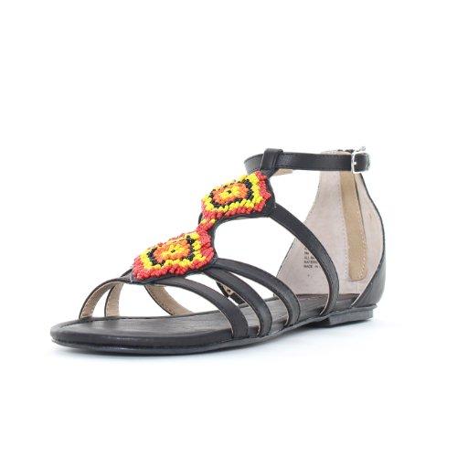 American Fille Beani Kvinners Sandaler & Flip Flops Svart