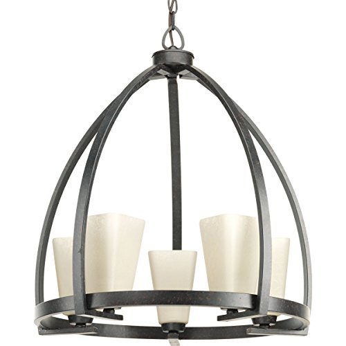 Progress Lighting P4658-84 5-100W Medium Base Chandelier, 22