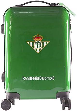 Real Betis Balompié Balompié Maleta Equipaje de Mano - Producto Oficial del Equipo, Rígida y con Sistema de Cierre de Seguridad TSA