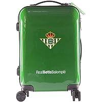 Real Betis Balompié Balompié Maleta Equipaje de Mano - Producto Oficial del Equipo, Rígida y con Sistema de Cierre de…