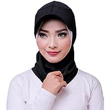 ❤️ ATTIQA - Hijab sport for muslim girls and women I instant scarf cap sport wear suit fitness islamic accessories – Dri-FIT I Black