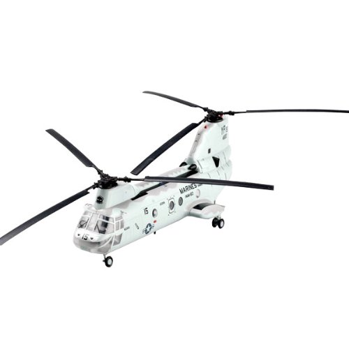 Easy Model American CH-46 Sea Knight Helicopter Model Building Kit