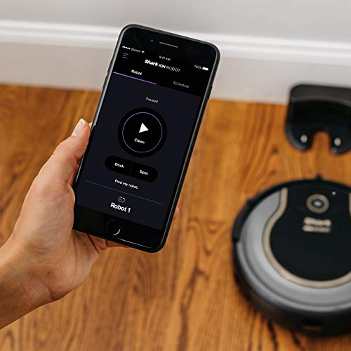 WIFI-Connected, Voice Control Robotic Vacuum Carpet Hard Floor Cleaner, with