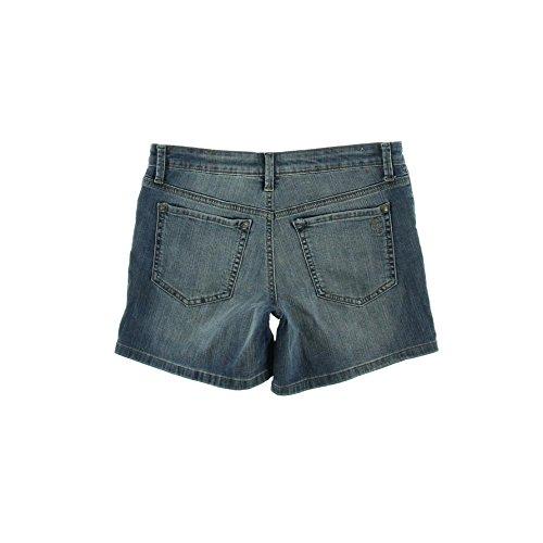 Jessica Simpson Women's Forever Roll Cuff Short, Duke Blue/Fonda, 27