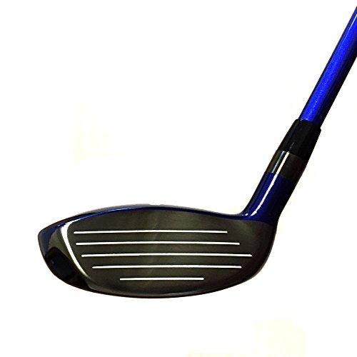 Japan WaZaki Black Finish WL-IIs 4-SW Combo Hybrid Irons USGA R A Rules Golf Club Set + Headcover(pack of 16,Regular Flex) by wazaki (Image #2)