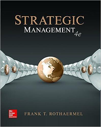 Amazon. Com: strategic management: concepts ebook: frank rothaermel.