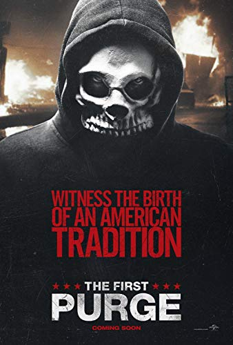 (AYB Products The Purge Poster Horror Movie Witness The Birth of an American Tradition The First)