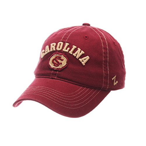 NCAA South Carolina Fighting Gamecocks Adult Men's Sluffer Relaxed Cap, Adjustable Size, Cardinal