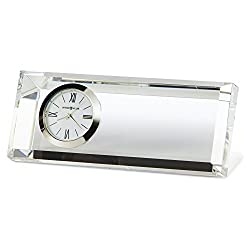 Jewelry Adviser Gifts Prism Rectangular Optical Crystal Table Clock