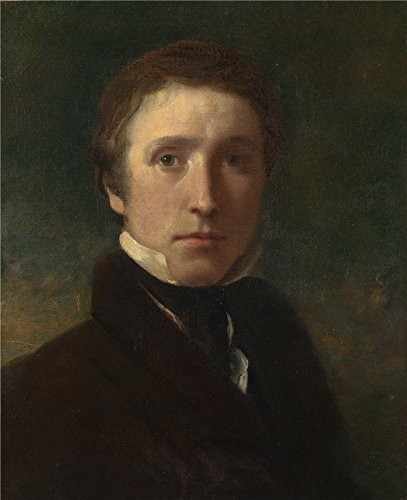 Oil Painting 'Sir William Boxall Self Portrait At The Age Of About Nineteen ' Printing On High Quality Polyster Canvas , 8 X 10 Inch / 20 X 25 Cm ,the Best Game Room Gallery Art And Home Gallery Art And Gifts Is This Imitations Art DecorativePrints On Canvas