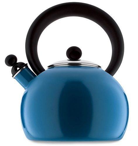 Copco 2503-1345 Bella Enamel-on-Steel Tea Kettle, 2-Quart, Blue