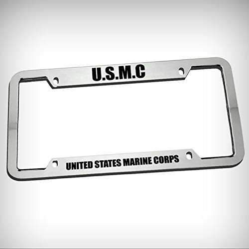 U.S.M.C United States Marine Corps Zinc Metal Tag Holder, used for sale  Delivered anywhere in USA