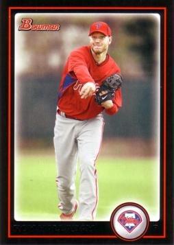 (2010 Bowman #160 Roy Halladay Baseball Card - 1st Card in a Philadelphia Phillies Uniform)