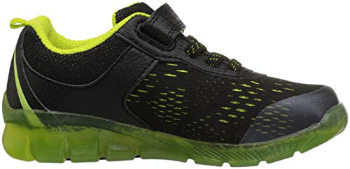 Pictures of Stride Rite Boys' Made 2 Play Lighted BB60272 Black/Neon 3