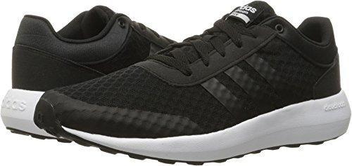 adidas Neo Men's Cloudfoam Race Running-Shoes, Black/Black/White, 11.5 M - Code Online 6pm