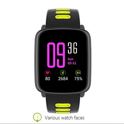 Fitness Tracker pulsera repuesto mensaje de sincronización con el podómetro frecuencia cardíaca Sensor para sueño seguimiento Cámara Seguimiento Fitness ...
