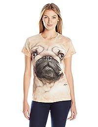 Pug Face Women's T-Shirt Tee