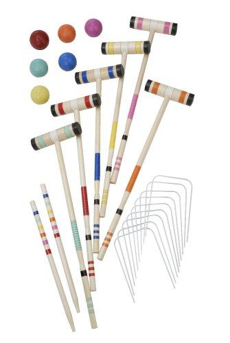 Halex Select 6 Player Croquet Set in Deluxe Carry Case