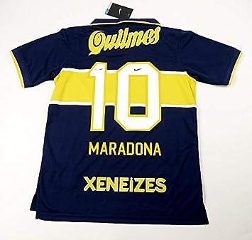 Brook Maradona#10 Boca Juniors Home Retro Soccer Jersey 1977