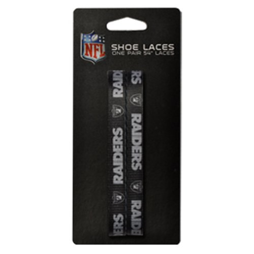 NFL Oakland Raiders 54-Inch LaceUps Shoe Laces for sale  Delivered anywhere in USA