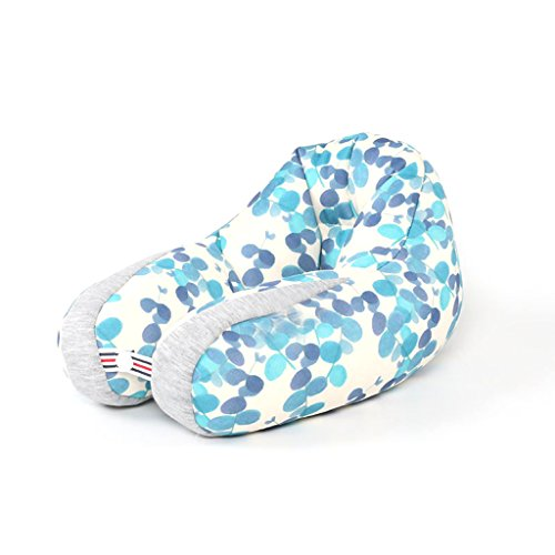 GAOYANG Neck Pillow U Pillow Lunch Break Pillow Travel Pillow Aircraft Pillow Soft And Breathable (Color : D)