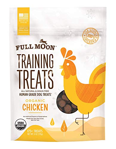 Full Moon Organic Human Grade Training Treats For Dogs ()