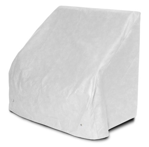 KoverRoos DuPont Tyvek 24204 5-Feet Bench/Glider Cover, 75-Inch Width by 28-Inch Diameter by 37-Inch Height, White