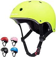 Kids Helmet Toddler Bike Helmets Adjustable Kids Helmet Multi-Sport Safety Cycling Helmet for Ages 3-8 Boys Gi