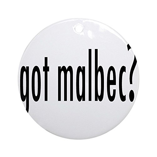 (CafePress got malbec.png Ornament (Round) Round Holiday Christmas Ornament)