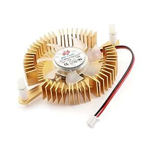 DC 12V 2 Pin JST-XH Conector tarjeta de vídeo DC ventilador de refrigeración del disipador de calor