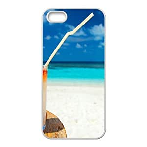 For SamSung Galaxy S5 Mini Phone Case Cover Summer Cocktail On The Beach Hard Shell Back White For SamSung Galaxy S5 Mini Phone Case Cover 316837