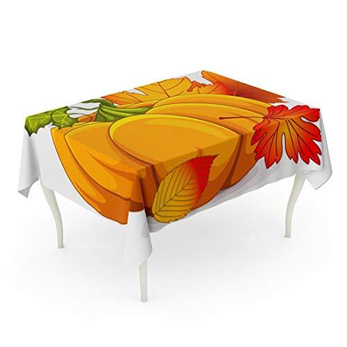 Tarolo Rectangle Tablecloth 52 x 70 Inch Fall
