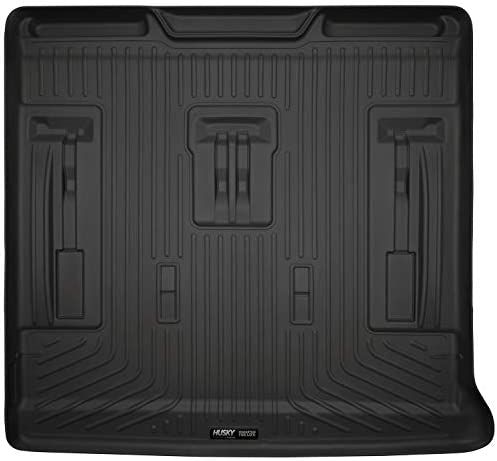 Husky Liners – 28251 Fits 2007-14 Cadillac Escalade, 2007-14 Chevrolet Suburban, 2007-14 GMC Tahoe – with 3rd Row Seat Cargo Liner Black