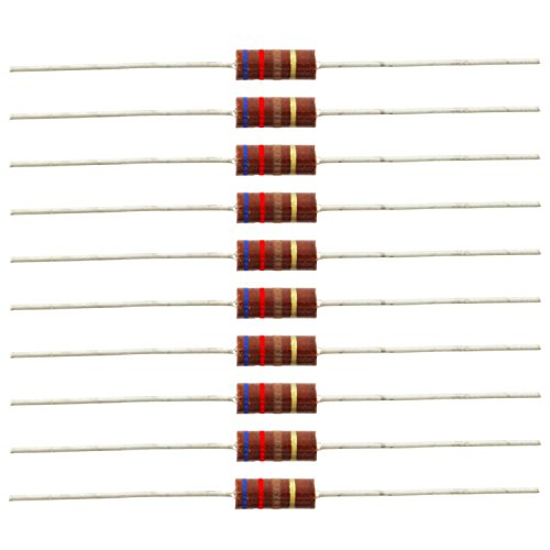 1/2 Watt Carbon Comp Resistors, 620 ohm, Pkg. of 10