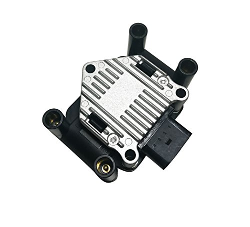 Vw Ignition Coil (Ignition Coil Pack - 1999, 2000, 2001 Volkswagen Golf, Jetta, Beetle 2.0L - Replaces Part# 032905106E, 032905106B, 032 905 106B - Coil Pack VW 2.0)