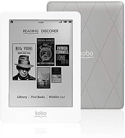KOBO GLO eReader Lector de Libros Electrónicos KOBO Plata/Blanc ...